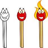 Match Stick Clip Art.