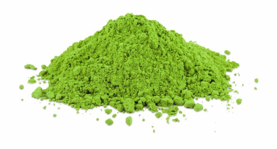Green Tea Leaves Pile Of Matcha.