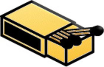 Matchbox Clip Art.