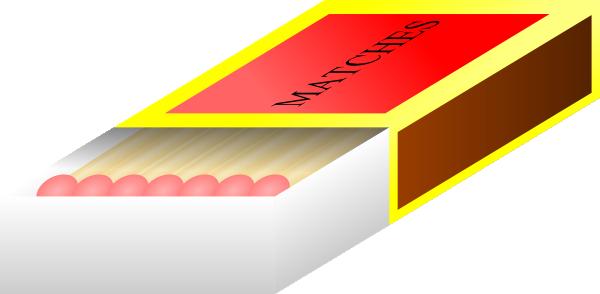 Match box clipart.