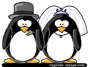 penguin profile clip art.