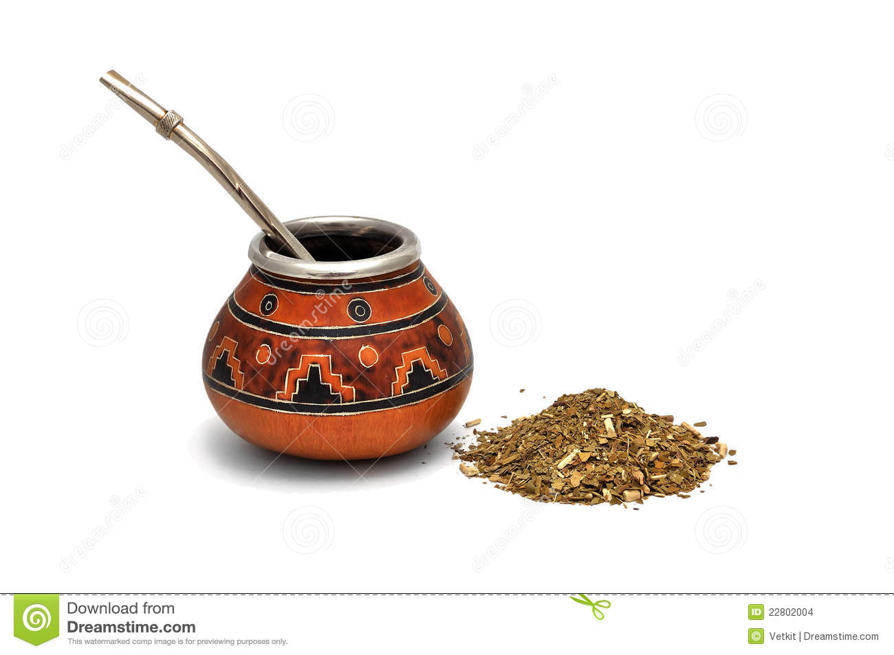 Yerba Mate Tea Stock Images.