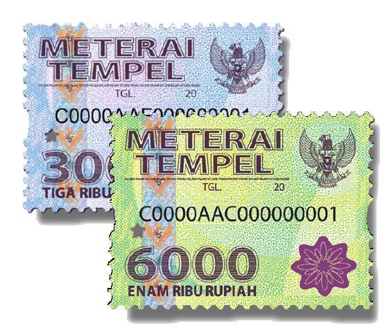 Materai 6000 Png Images Transparent 1 Clipart, Vectors, PSD.
