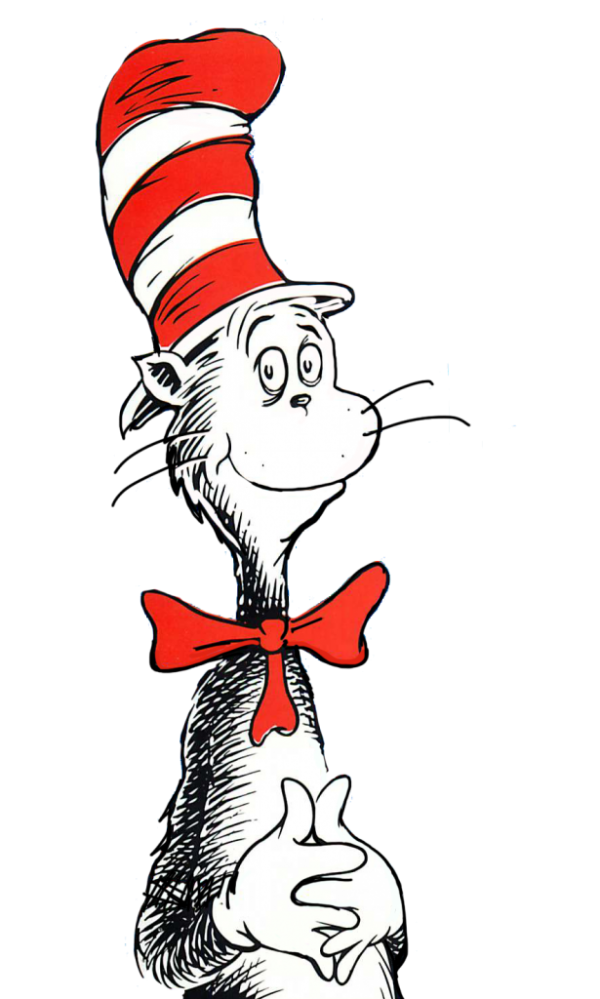 Cat In The Hat Kid Image Png Clipart, Vectors, PSD Templates.