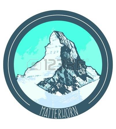 173 Matterhorn Stock Vector Illustration And Royalty Free.