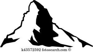 Matterhorn Clipart Illustrations. 37 matterhorn clip art vector.