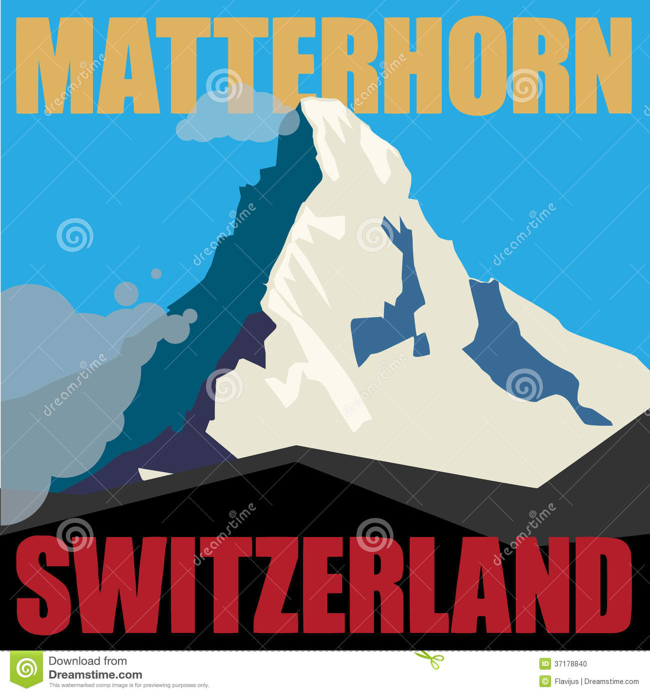 Matterhorn Stock Illustrations.