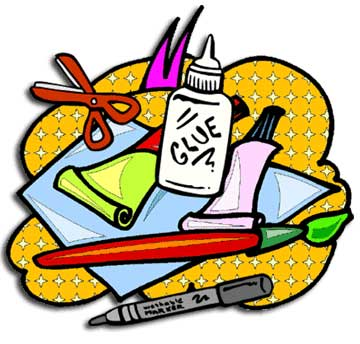 Craft Material Clipart.