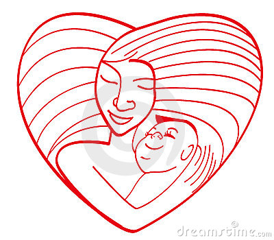Maternal Love Royalty Free Stock Photo.