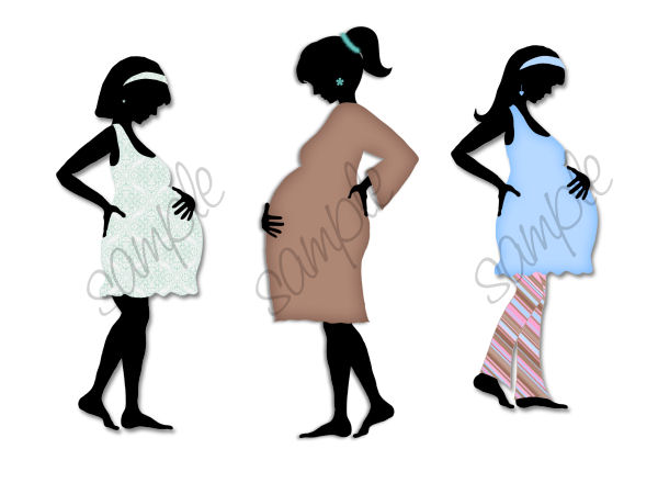 Maternity Silhouettes.