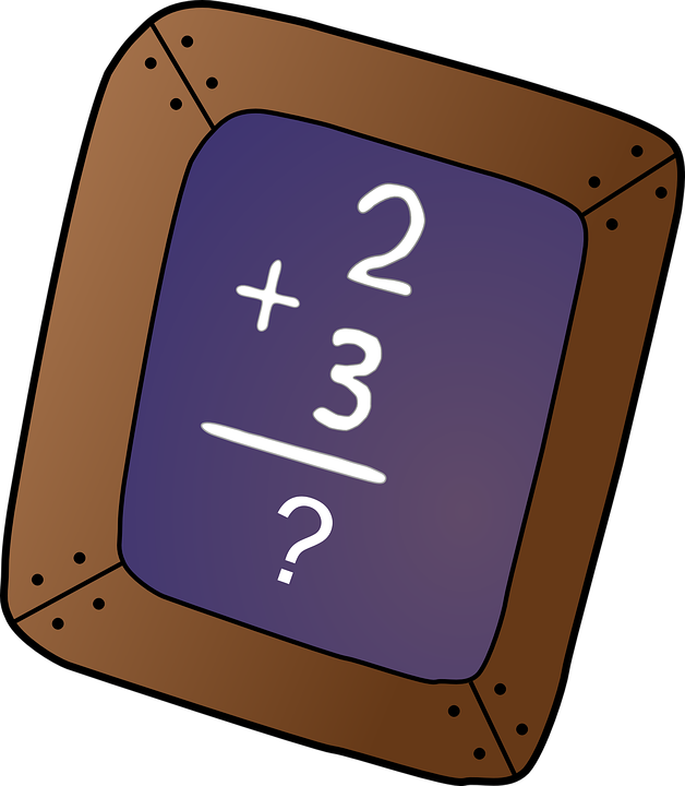 Free vector graphic: Chalkboard, Math Problem.