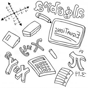 Math Clipart Free Black And White.