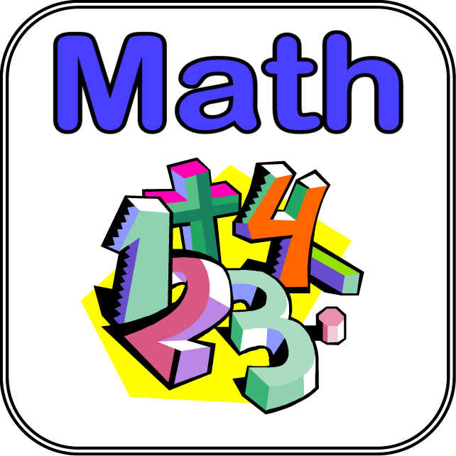 Math clip art free free clipart images.