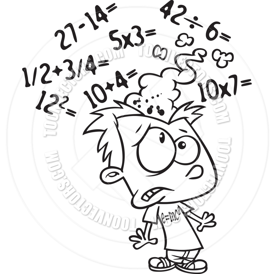 math clipart free black and white - Clipground