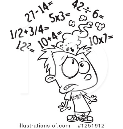 Elementary Math Clip Art Black And White Pictures to Pin on.