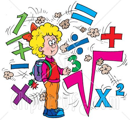 School Math Clipart.