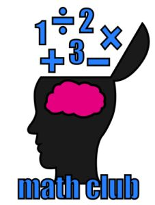 Math Club for Elementary or Middle School Students.