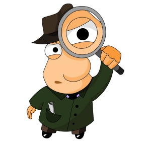 Math Detective Clipart.