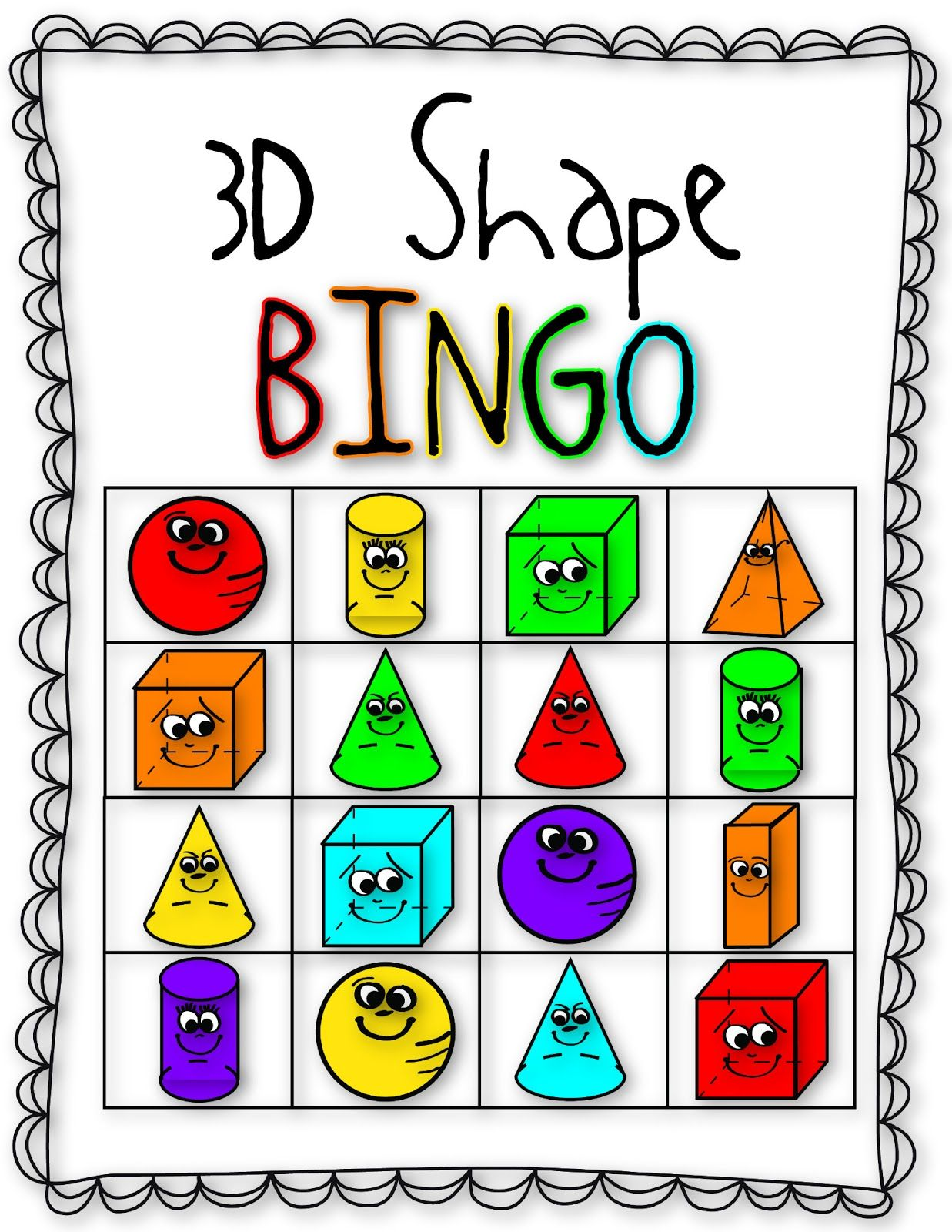Fall Into First: 3D Shape Fun!.