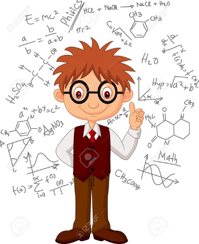 Math Genius Clipart.