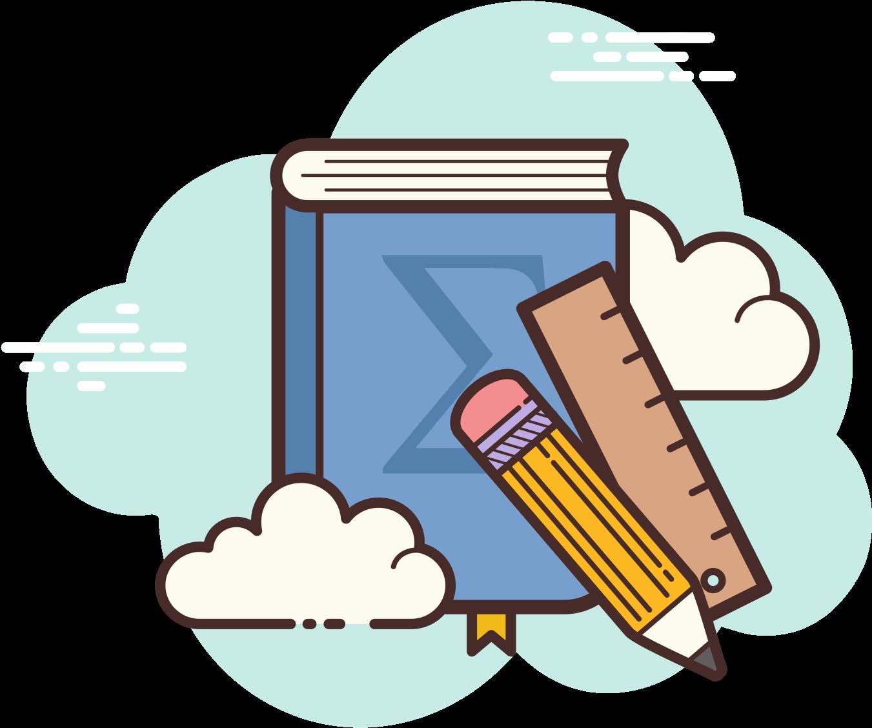 Math Book Icon.