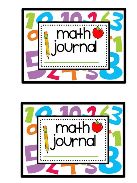 Printable Kindergarten Journal Covers.