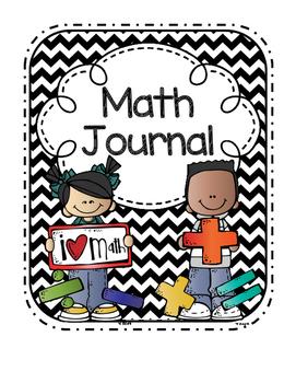 Math Journal Cover.