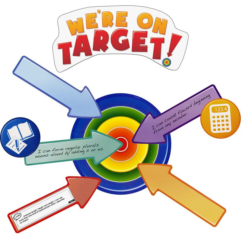 math learning target clipart - Clipground