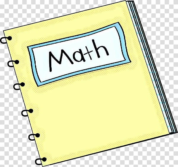 Math, Notebook, Mathematics, Teacher, Algebra, Yellow.