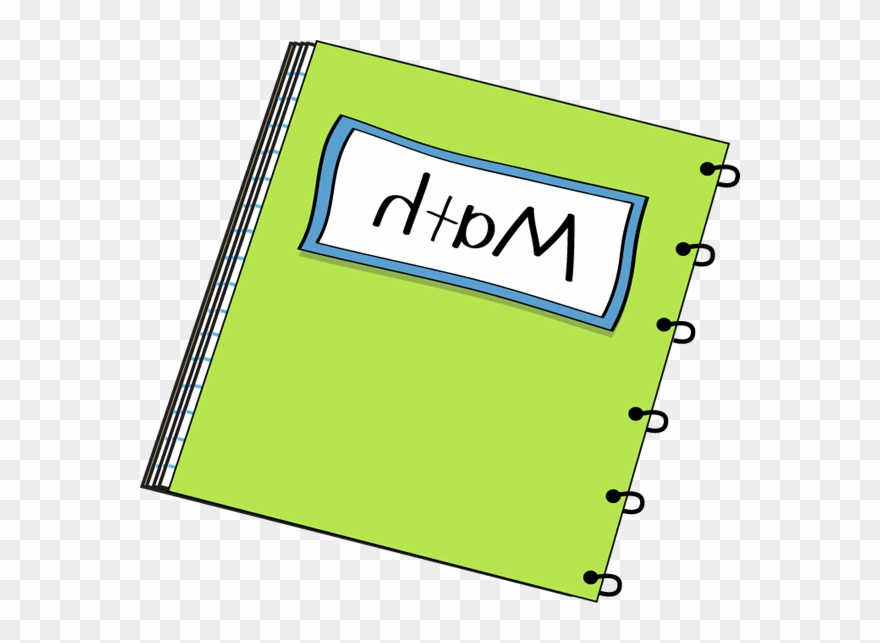 Clipart Of Math, Mathematics And Notebooks.