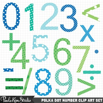 Math Clipart Numbers.
