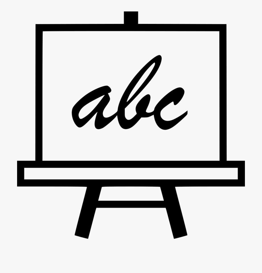 Abc Board Learn Svg Png Icon Free Download.