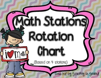Math. Center Rotation Chart Worksheets & Teaching Resources.