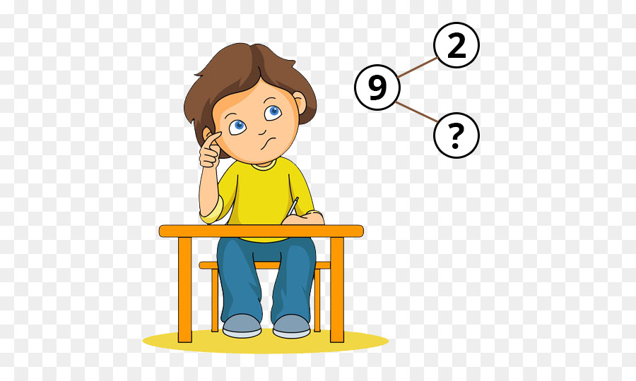 Math Cartoon png download.