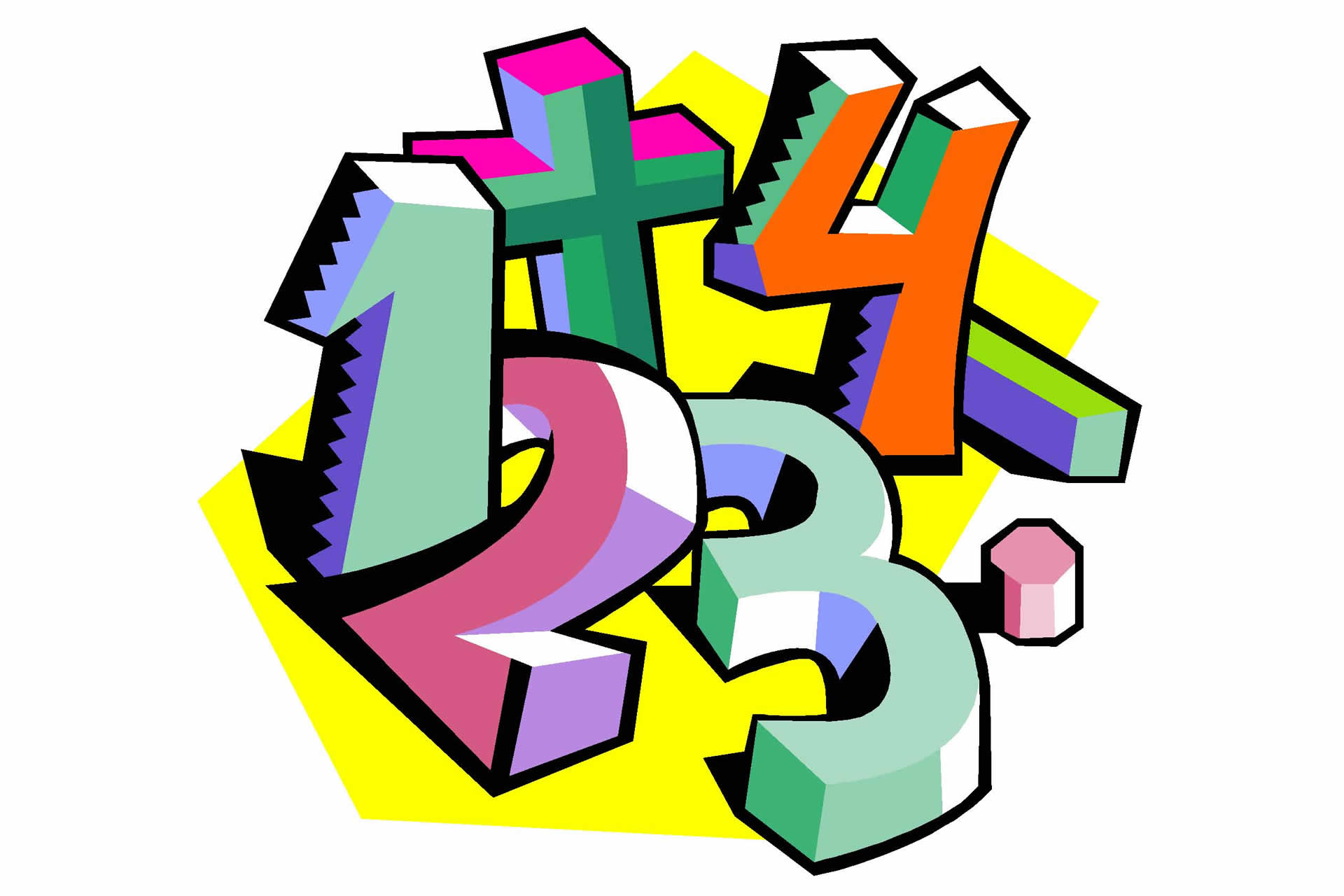 Math subject clipart 6 » Clipart Station.