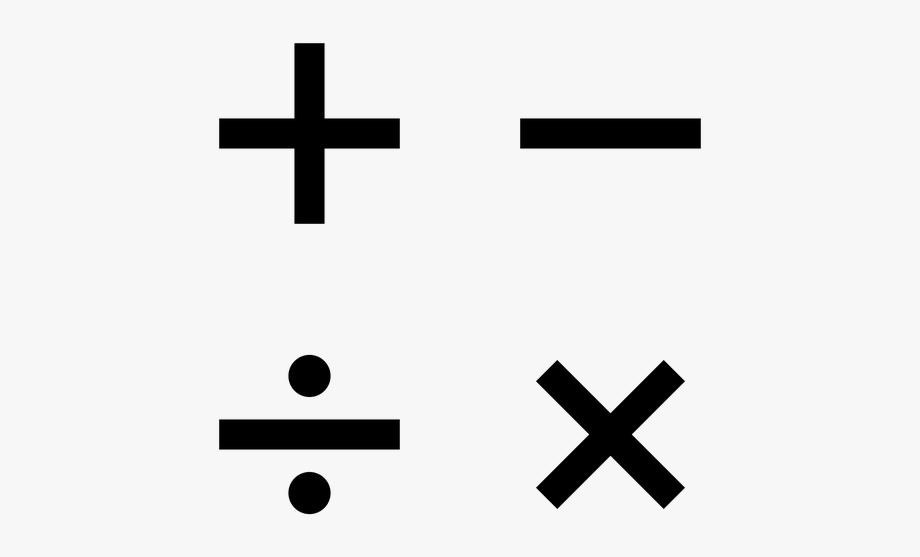 Mathematics Symbols.