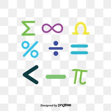 Mathematics Symbol PNG Images.