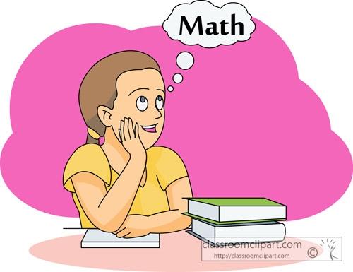 Math Exam Clipart.