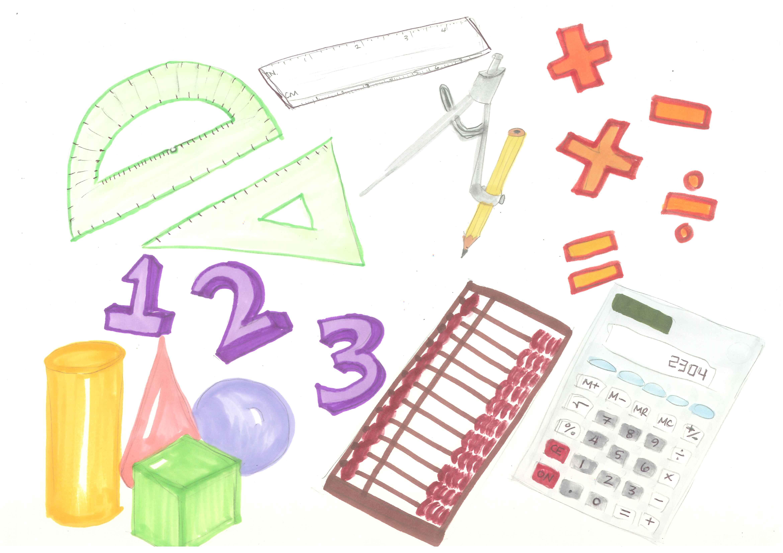 Math Tools Clipart.