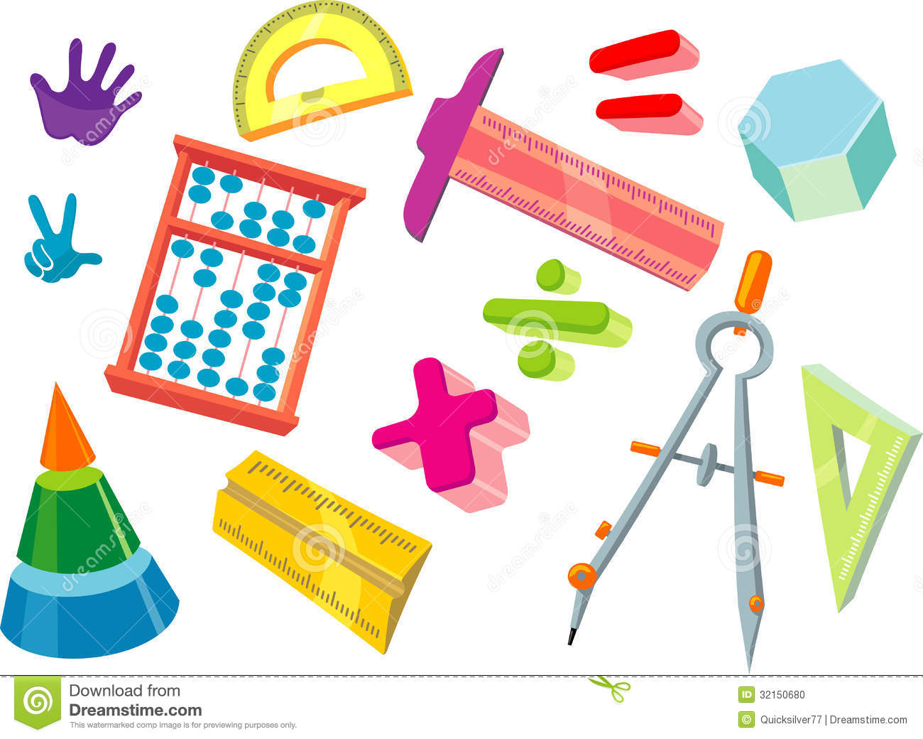 Math tools clipart 4 » Clipart Station.
