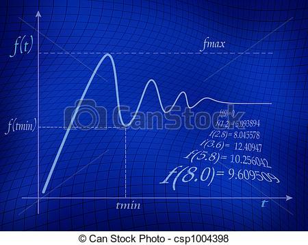 Stock Illustration of Math Function.