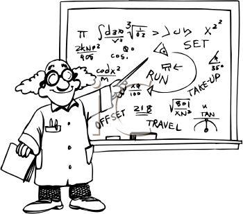 Mathematician Clip Art.