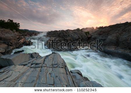 Great Falls Of The Potomac Stock Photos, Royalty.