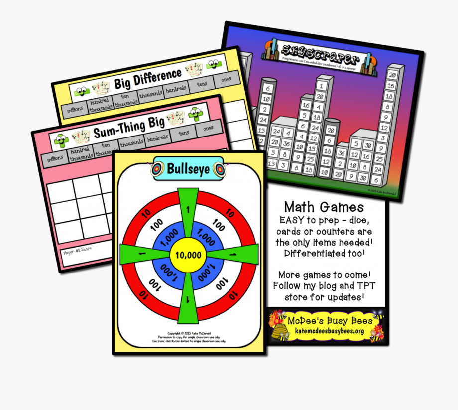 Differentiated Math Games.