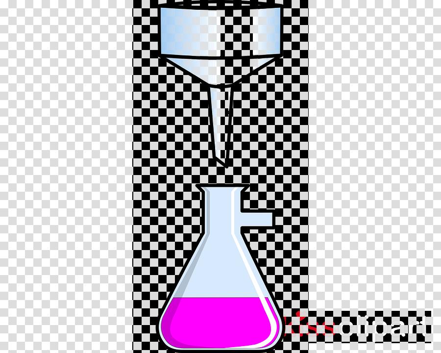 matraz con embudo clipart Funnel Laboratory Flasks Clip art.