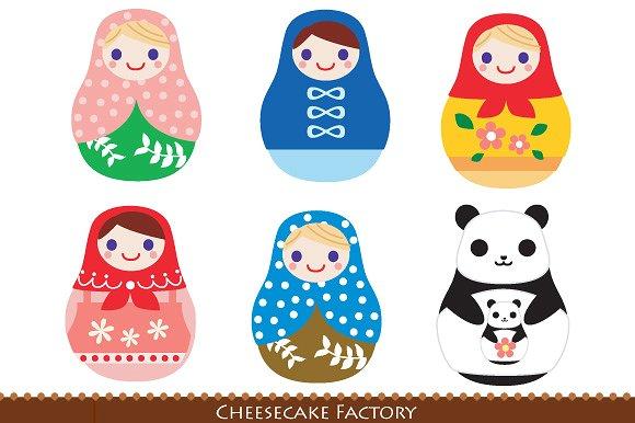 Matryoshka doll Photos, Graphics, Fonts, Themes, Templates.