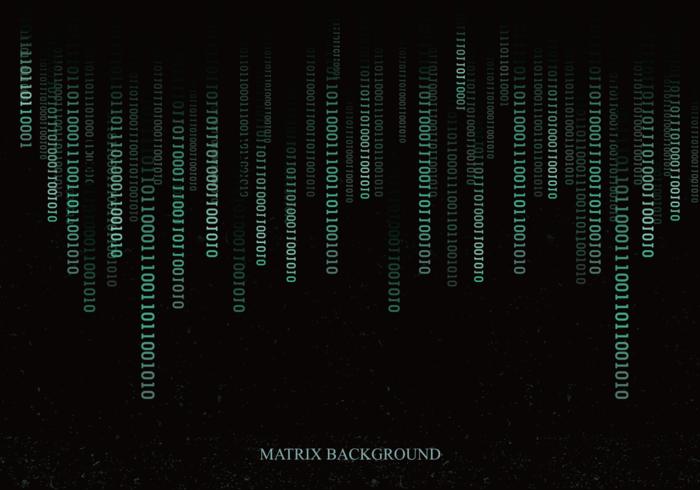 Matrix Background Free Vector Art.