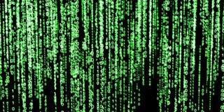 Black matrix clipart.
