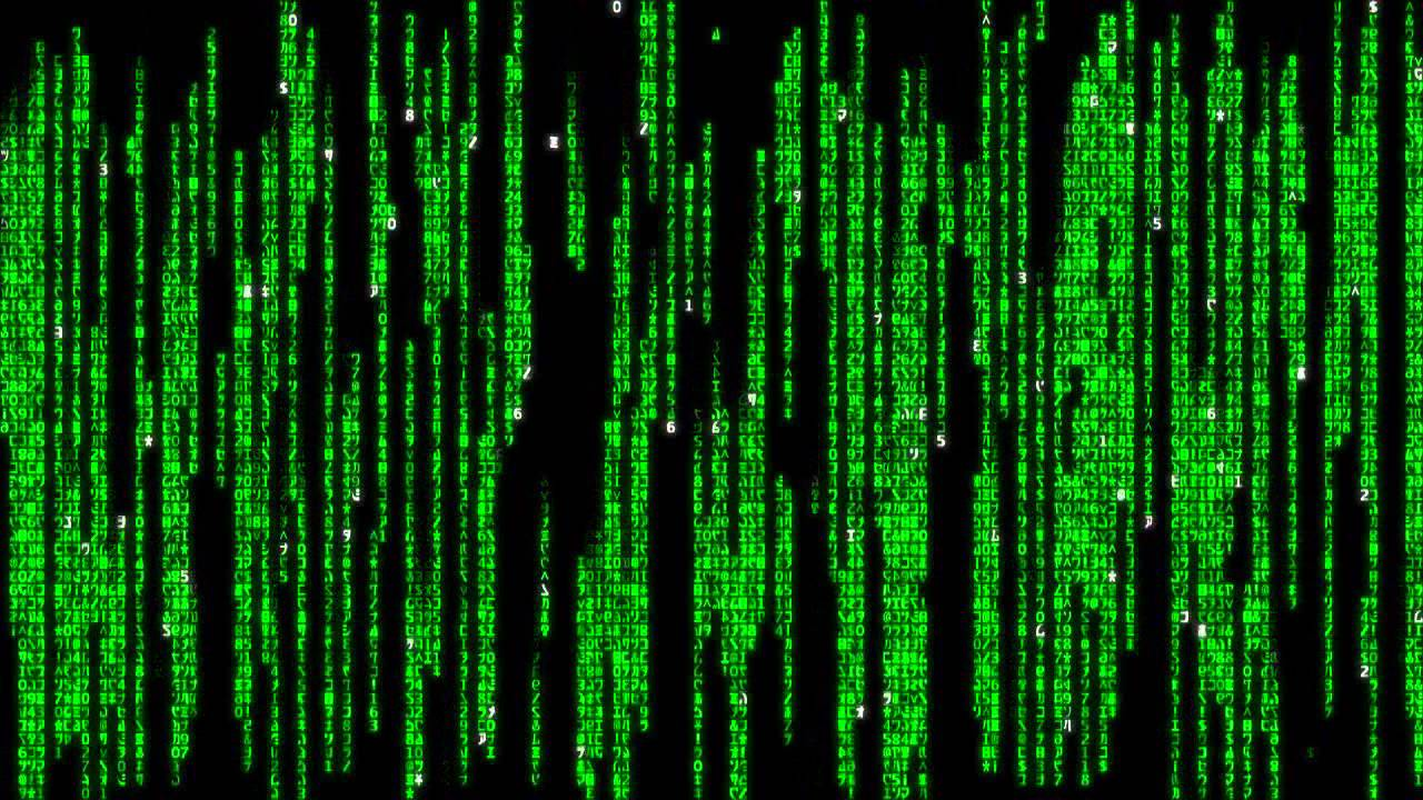 Matrix Raining Code.