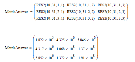 Solved: Symbolic matrix construction.